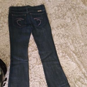 FRANKIE B JEANS Flare/ bootcut